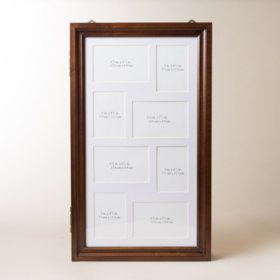 Hives & Honey Photo Collage Jewelry Armoire, Walnut