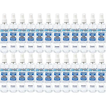 safeHands Alcohol Free Spray Hand Sanitizer (8 oz., 24 pk.)