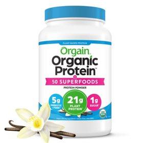 Orgain® Organic Protein & Superfoods Vanilla, 21g Plant-Based Protein