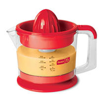 Dash Electric Dual Citrus Juicer (Red)