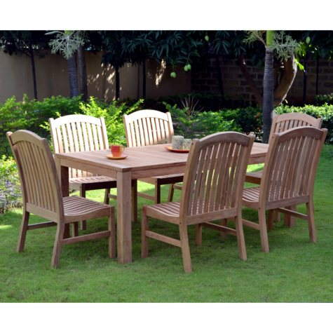 Jamestown Teak Dining Set - 7 pc.