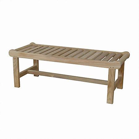 "Capri 48"" Grade-A Teak Bench"