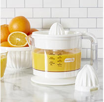 Dash Electric Dual Citrus Juicer (White)