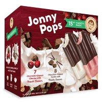 Jonny Pops Dipped in Dark Chocolate Variety Pack, Frozen (15 ct.)