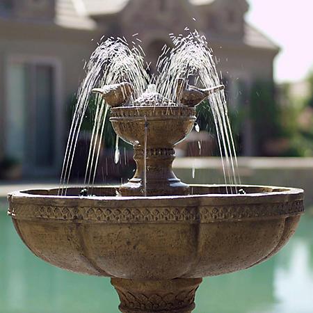 Monza Water Show Fountain - Bronze