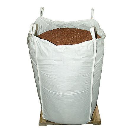 GroundSmart Rubber Mulch Cedar Red 76.9 cu ft Super Sack (Assorted Sizes)