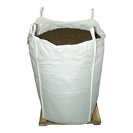 GroundSmart Rubber Mulch Mocha Brown 76.9 cu ft Super Sack (Assorted Sizes)