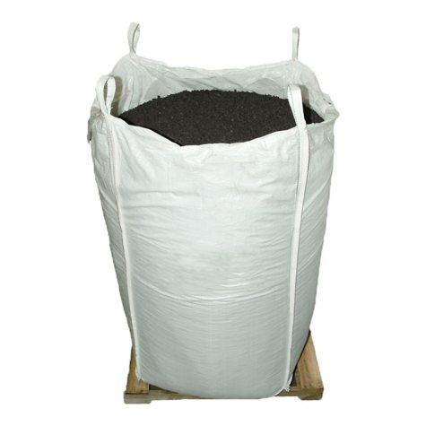GroundSmart Rubber Mulch - Espresso Black 76.9 cubic feet (SuperSack)