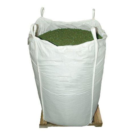 GroundSmart Rubber Mulch - Green 76.9 cubic feet (SuperSack)