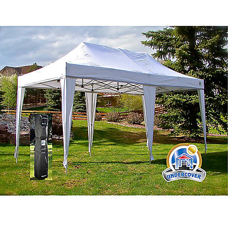 UnderCover 10'x20' Professional Grade Instant Canopy with Leg-Covers