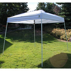 UnderCover Affordable Instant Canopy with Slant-Leg Design (10' x 10')