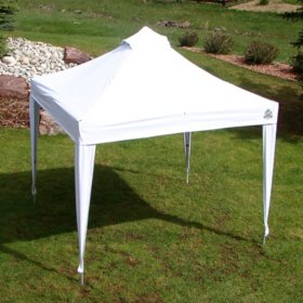 UNDERCOVER 10' x 10' Professional Instant Vending Canopy with Octagonal Aluminum Durability, Wheel-Bag and Spikes