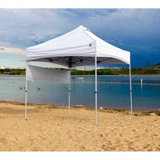 UNDERCOVER 8 x 8 Super Lightweight Popup-Shade with Wheel- Bag, Spikes, Backpack Ready