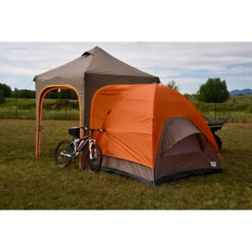 Apex Camp Canopy Meets Dome Tent - Sleeps up to 7 Adults