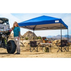 Popup-Shade 10' x 10' Recreational Instant Canopy with Popup-Lock Setup, Wheel-Bag and Spikes