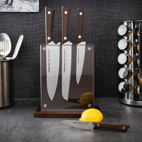 Schmidt Brothers Cutlery Stone Series 7 Pc. Knife Block Set