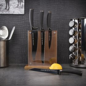 Schmidt Brothers Cutlery 22-Series 7-Piece Knife Block Set