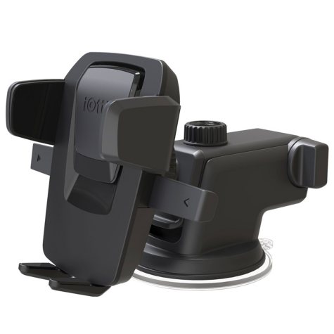iOttie Easy One Touch 3 Dash & Windshield Car Mount Universal Phone Holder w/ Bonus Rapid Charger