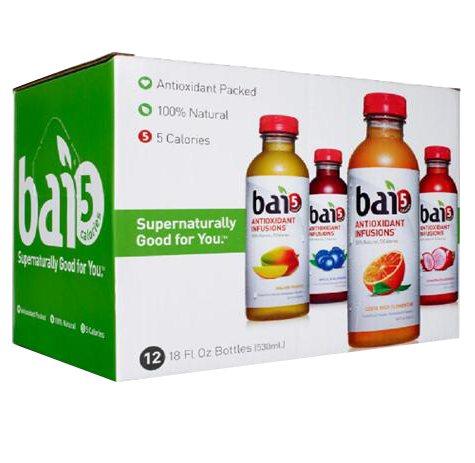 Bai5 Green Variety Pack (18 oz. bottle, 12 ct.)