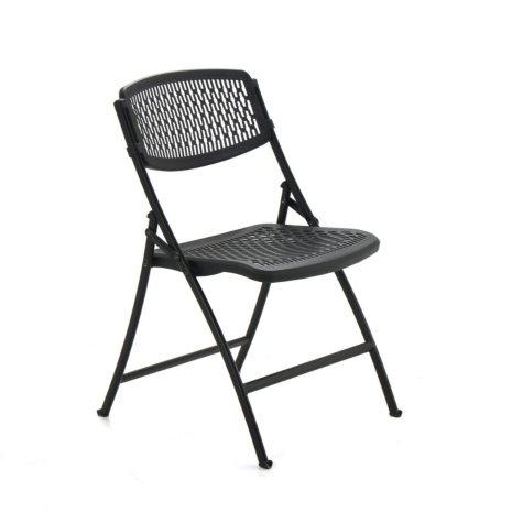 Mity Lite Flex One Folding Chair, Black