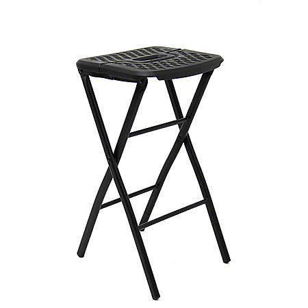 Mity Lite Flex One Folding Stool, Black