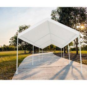 Impact Shelter 10' x 20' Ultra Carport Canopy Mutli-Use Universal Canopy