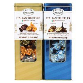 Delicia Duo-Pack Italian Truffles (15.87 oz., 2 pk.)