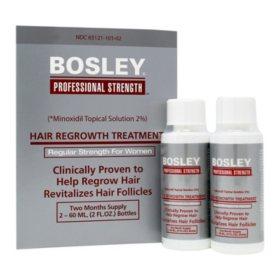Bosley Hair Regrowth Treatment 2% for Women (4 oz.)