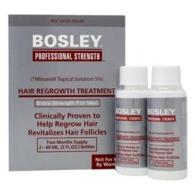 Bosley Hair Regrowth Treatment 5% for Men (4 oz.)