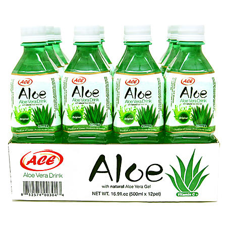 ACE Aloe Vera Drink (16.9oz / 12pk)
