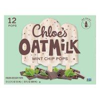 Chloe's Mint Chip Oatmilk Pops, Frozen (12 ct.)