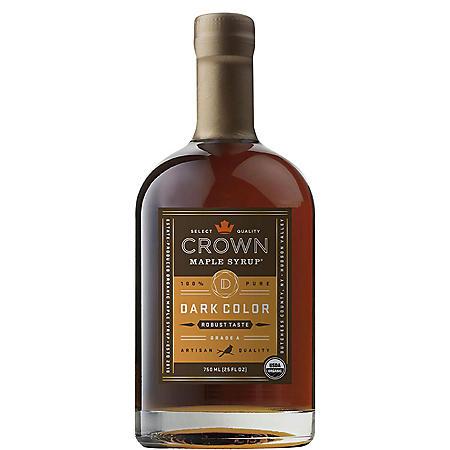 Crown Maple Dark Robust Flavored Syrup (25 fl. oz.)