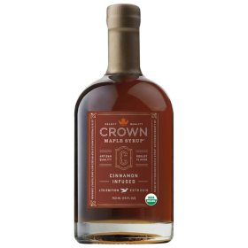 Crown Maple Cinnamon Infused Organic Maple Syrup (25 oz.)