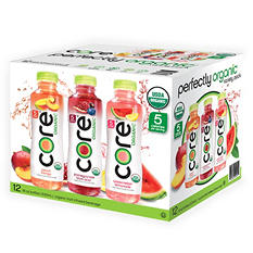 CORE Organic Variety Pack (18 oz. bottles, 12 pk.)
