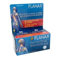 Flanax Pain Reliever Tablets (100 ct.)
