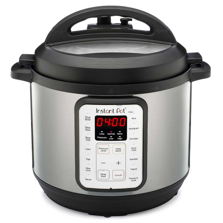Instant Pot 6-Quart Viva 9-in-1 Multi-Use Programmable Pressure Cooker