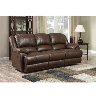 Ou0027Connor Leather Motion Sofa