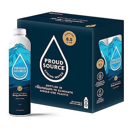 Proud Source Alkaline Spring Water (750 ml, 8 pk.)