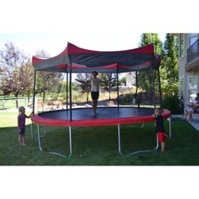 Shade Cover for 14' Trampoline (Trampoline Not Included)