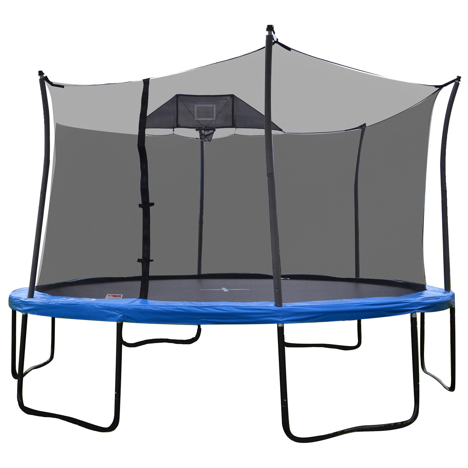 Propel 14′ Heavy-Duty Pro Trampoline With Basketball Hoop