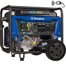 Westinghouse 9,500/12,500-Watt Dual Fuel Portable Generator