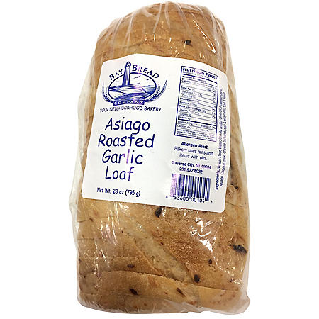 Bay Bread Asiago Roasted Garlic Loaf (28oz)