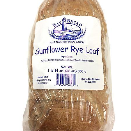 Bay Bread Sunflower Rye Bread (30oz)