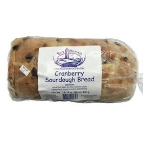 Bay Bread Cranberry Sourdough Bread (30 oz.)