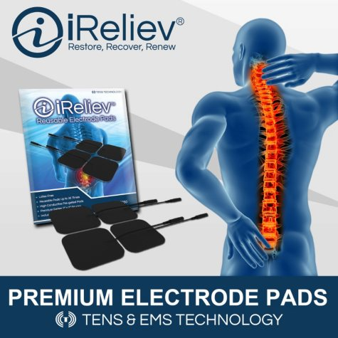 iReliev Electrode Pads Refill Kit with 32 Electrodes