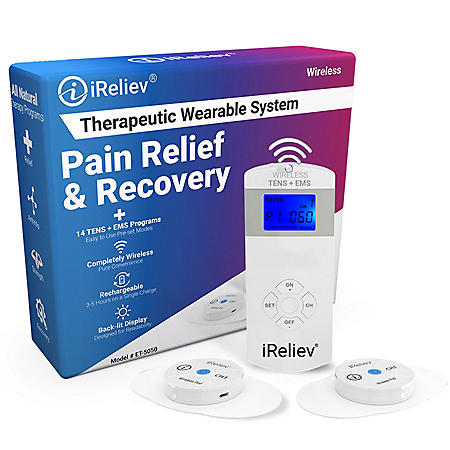 iReliev Wireless Therapeutic Wearable Pain Relief and Recovery System