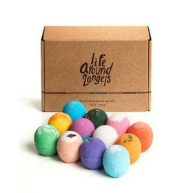 Lifearound2angels Bath Bomb Set (3 oz., 12 pk.)
