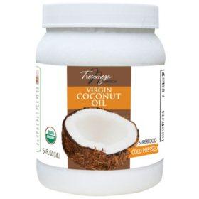Tresomega Nutrition Organic Virgin Coconut Oil (54 oz., 2 pk.)