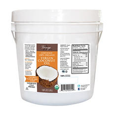 Tresomega Nutrition Organic Virgin Coconut Oil Pail (128 oz.)