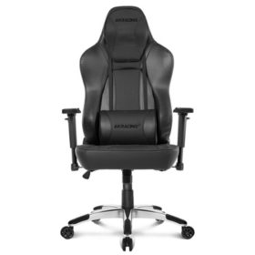 AKRacing Office Series Obsidian Ergonomic Computer Chair   - Carbon Black